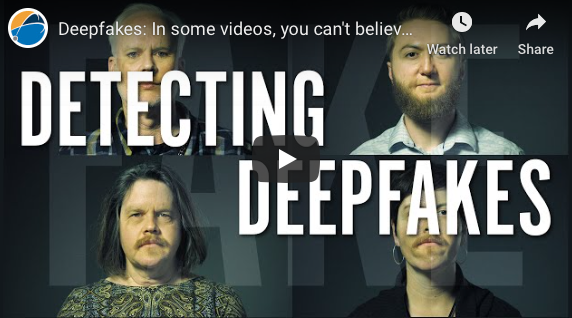 Greensboro: Deepfakes: In some videos, you can't believe your eyes